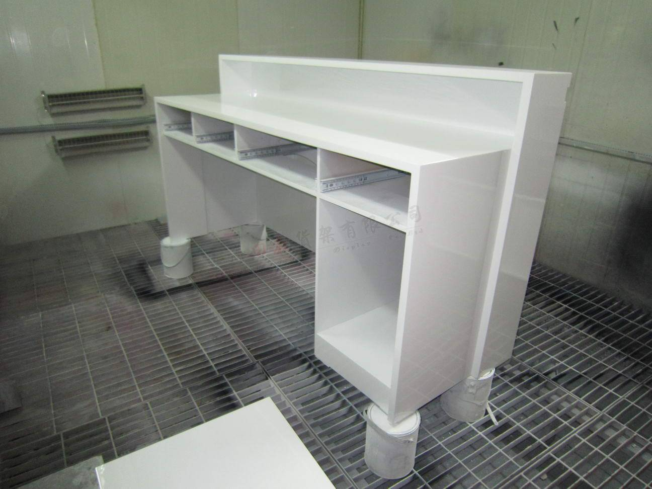条形烤漆收银台-34